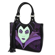 Loungefly x Disney Maleficent Tassel Top-Handle Handbag - FRONT