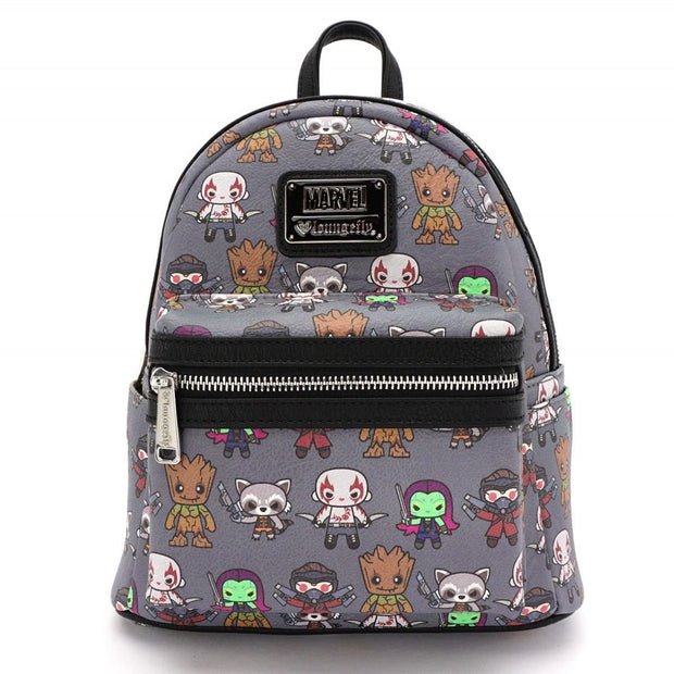 Loungefly X Marvel Guardians of the Galaxy Kawaii Mini Backpack - FRONT