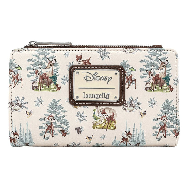 Bambi Scenes Allover Print Wallet - front