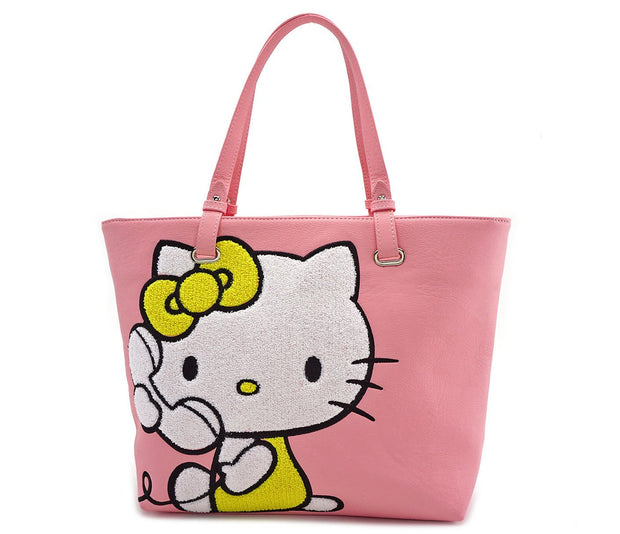 Loungefly x Hello Kitty Telephone Tote Bag _BACK