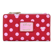 Disney Minnie Mouse Pink Polka Dot Wallet