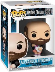 Funko Pop! Disney: Haunted Mansion Portraits - Alexander Nitrokoff (Styles May Vary), Multicolor