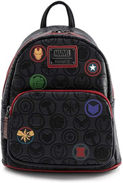 Marvel Avengers Debossed Icons Mini Backpack