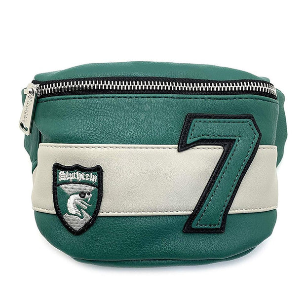 Loungefly x Harry Potter Slytherin Crest No. 7 Fanny Pack - FRONT