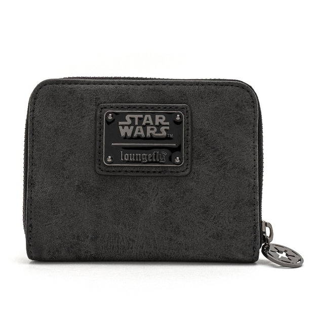Loungefly x Star Wars Darth Vader Head Zip-Around Wallet - BACK