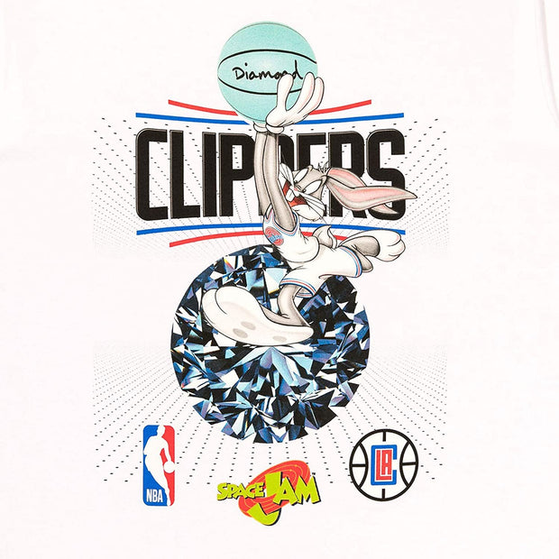 Space Jam x NBA Los Angeles Clippers Short Sleeve T-Shirt