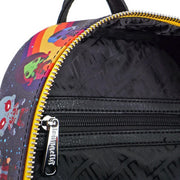 Loungefly Guardians of the Galaxy Faux Leather Mini Backpack - INSIDE PRINT