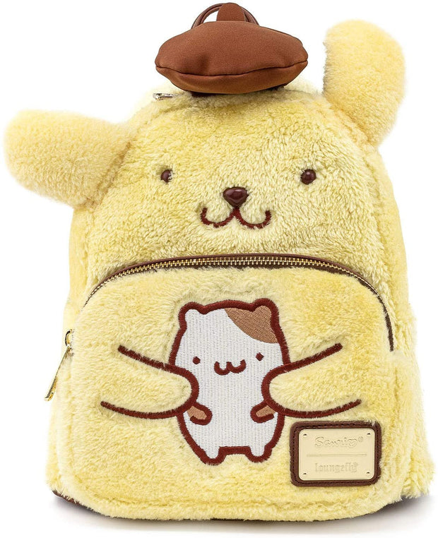 Sanrio Pompompurin Cosplay Mini Backpack - Front