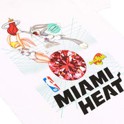 Space Jam x NBA Miami Heat Short Sleeve T-Shirt