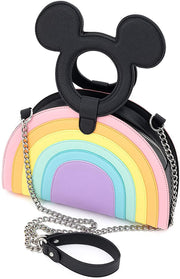 Disney Mickey Mouse Pastel Poses Crossbody