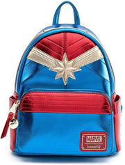 Marvel Classic Captain Marvel Cosplay Mini Backpack