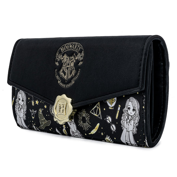 Harry Potter Magical Elements Allover Print Wallet - May Preorder