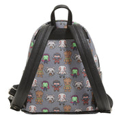 Loungefly X Marvel Guardians of the Galaxy Kawaii Mini Backpack - BACK