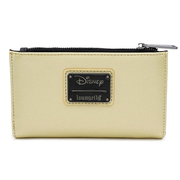 LOUNGEFLY X DISNEY LILO AND STITCH SATIN STITCH WALLET - BACK