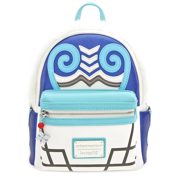 LOUNGEFLY X OVERWATCH MEI COSPLAY MINI PU BACKPACK - FRONT