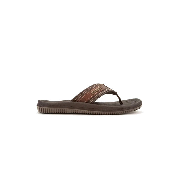 CARTAGO DUNAS II MEN'S SANDALS - BROWN OUTSIDE