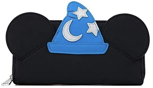 Disney Fantasia Sorcerer Mickey Mouse Cosplay Zip-Around Wallet