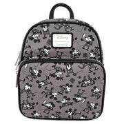LOUNGEFLY X DISNEY MICKEY MOUSE PLANE CRAZY MINI BACKPACK - FRONT