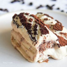 Load image into Gallery viewer, TIRAMISU (6x6x3 cake) from Hunter's Kitchens by Chef Robert Davis - FOR PREORDER