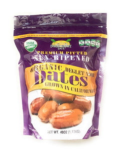 Organic Dates - Premium Pitted 1.13KG