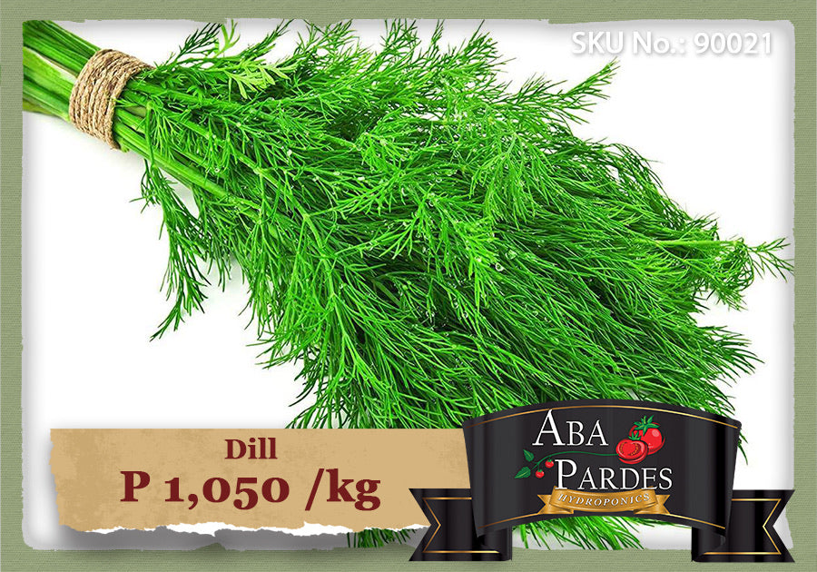 ABA PARDES HERBS Dill 1kg