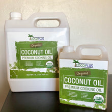 Load image into Gallery viewer, Certified Organic Coconut Cooking Oil 1 Liter