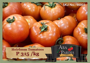 ABA PARDES TOMATOES Heirloom Tomatoes 1kg