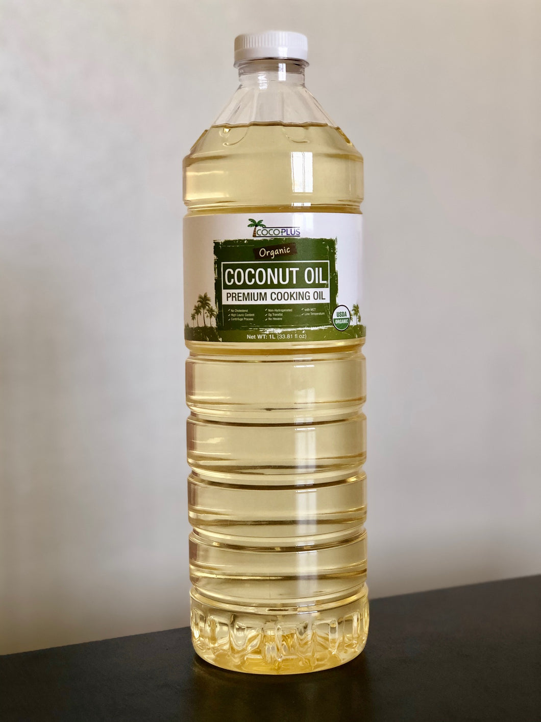 Certified Organic Coconut Cooking Oil 1 Liter