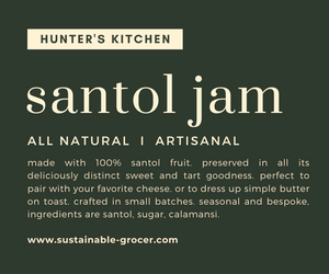 All Natural SANTOL JAM from Hunter's Kitchens by Chef Robert Davis