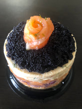 Load image into Gallery viewer, Caviar Cake 9x9