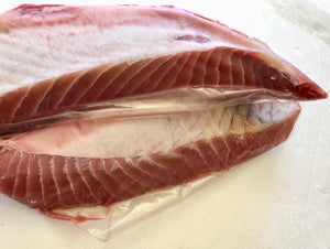 Yellow Fin Tuna Belly Cut (Toro), Handline Caught, Frozen - 800g to 1 KG