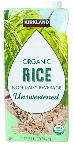Organic Rice Drink, Non-Diary Beverage, Unsweetened