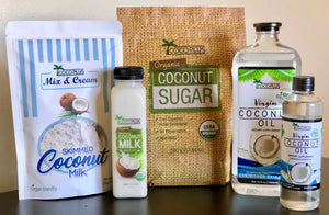 "Certified Organic Skimmed Coconut Milk ""Mix & Cream"" 250g"