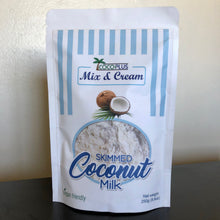 "Load image into Gallery viewer, Certified Organic Skimmed Coconut Milk ""Mix & Cream"" 250g"
