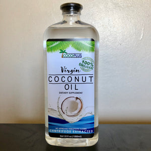 Certified Organic Virgin Coconut Oil 1000ml