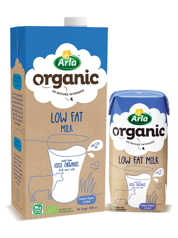 Arla Organic Low Fat Milk