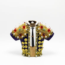 Load image into Gallery viewer, Purple Bullfighter Jacket sculpture