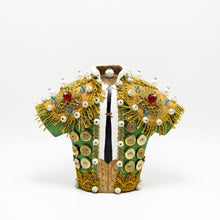 Load image into Gallery viewer, Green Bullfighter Jacket sculpture