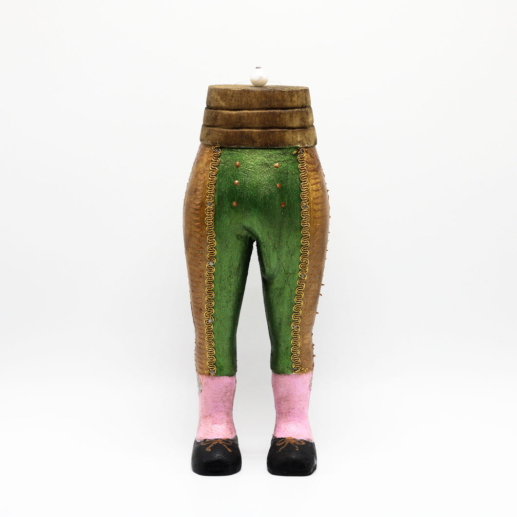 Green Bullfighter Jacket sculpture