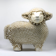 Load image into Gallery viewer, Wood White Sheep.