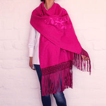 Load image into Gallery viewer, Fuchsia Shawl