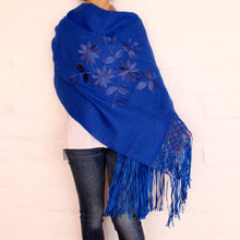 Load image into Gallery viewer, Blue Shawl
