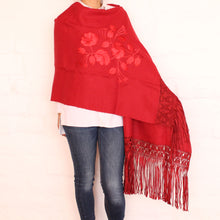 Load image into Gallery viewer, Red Shawl