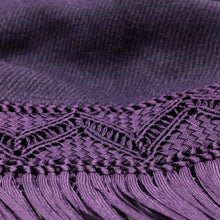 Load image into Gallery viewer, Purple Shawl 1