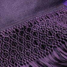 Load image into Gallery viewer, Purple Shawl 2
