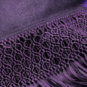 Purple Shawl 2