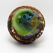 Load image into Gallery viewer, Green Pear Sculpture 17 (medium)