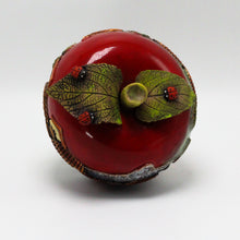 Load image into Gallery viewer, Red Apple Sculpture (small)