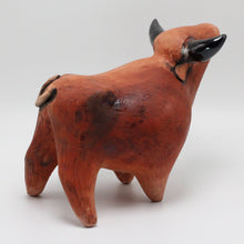 Load image into Gallery viewer, Ceramic Bull 27 Sculpture (medium)