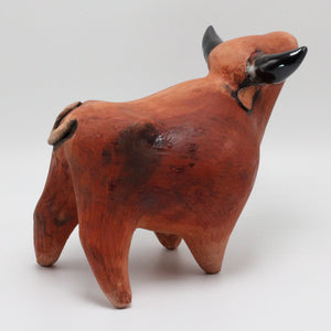 Ceramic Bull 27 Sculpture (medium)